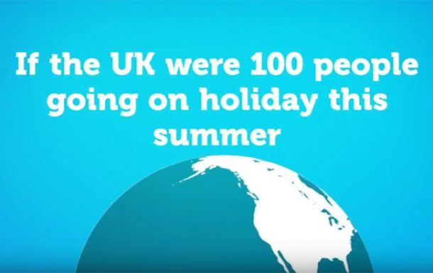 Video: Where Brits like to spend their summers