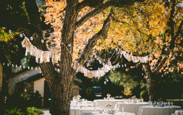 Outdoor soiree: 14 garden party décor ideas