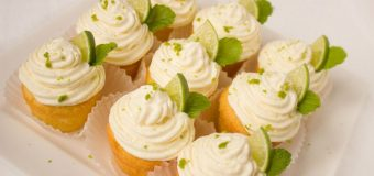 National Baking Week: Boozy Mojito Cupcake recipe