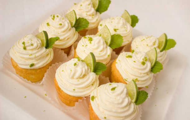 National Baking Week: Boozy Mojito Cupcake recipe